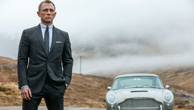 """James Bond"" Daniel Craig im Kult-""Bond"" ""Skyfall"" (Bild: 20th Century Fox)"