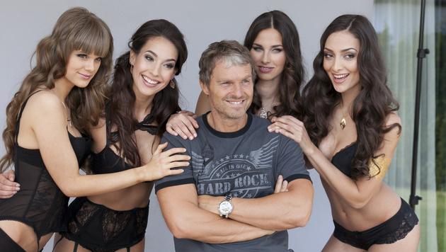 """Fesch sind sie alle, aber wer wird """"Miss Austria""""? (Bild: Andreas Buebl)"""