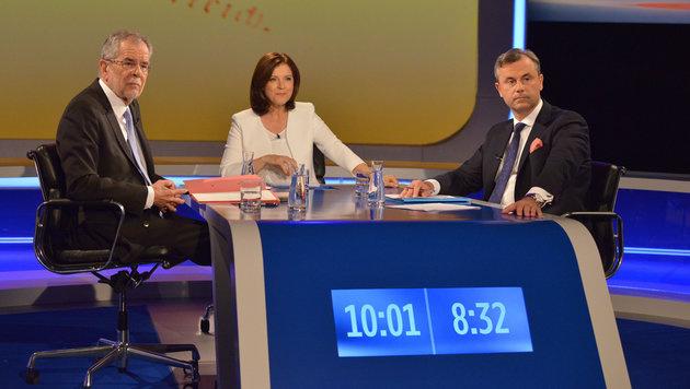 Shitstorm entlädt sich auf Ingrid Thurnher (Bild: ORF/Thomas Ramstorfer)