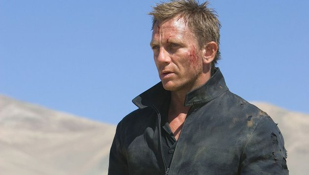 "James Bond Daniel Craig in ""Quantum of Solace"" (2008) (Bild: CapFSD/face to face)"
