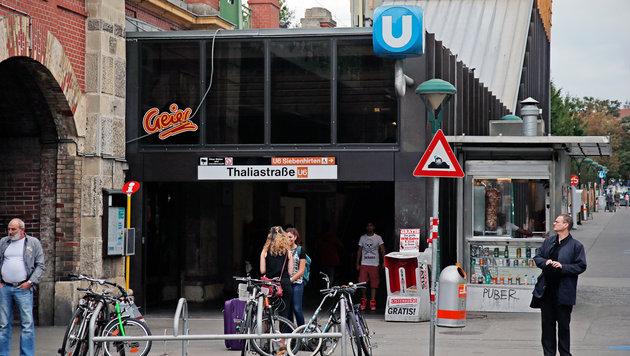 Afrikaner gingen bei U6-Station auf Türken los (Bild: Reinhard Holl)