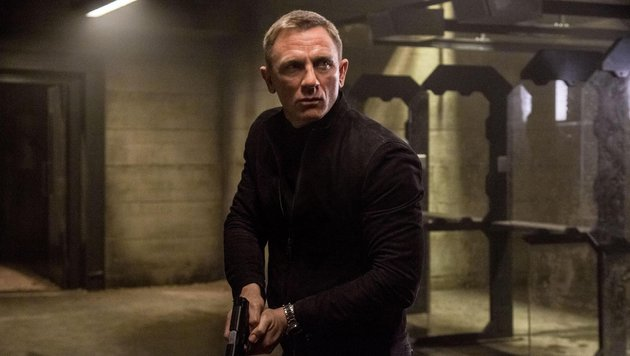 "James Bond Daniel Craig in ""Spectre"" (2015) (Bild: CapFSD/face to face)"
