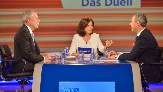"""Bis zu 1,4 Millionen sahen """"Das Duell"""" im ORF (Bild: ORF/Thomas Ramstorfer)"""