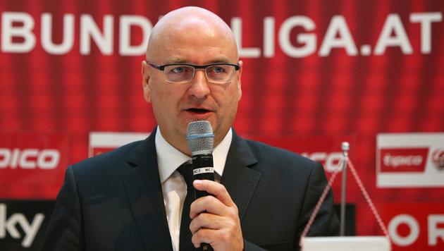 Bundesliga-Präsident Hans Rinner (Bild: GEPA)
