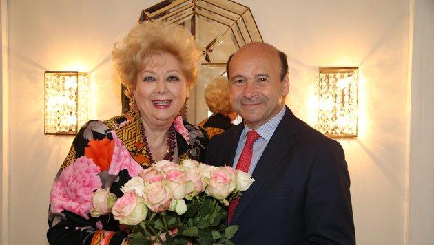 Birgit Sarata und Dominique Meyer (Bild: KRISTIAN BISSUTI)