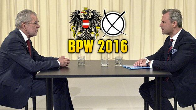 Die schmutzigen Redetricks der Hofburg-Kandidaten (Bild: APA/HANS PUNZ)
