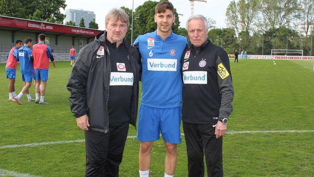 Dragovic trainiert bei der Wiener Austria (Bild: facebook.com/FK Austria Wien)