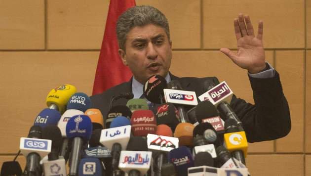 Der �gyptische Luftfahrtminister Sherif Fathy (Bild: APA/AFP/KHALED DESOUKI)