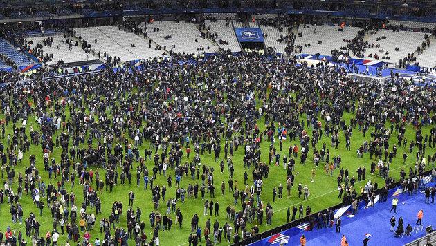 Islamistische Attentäter wollten im November auch das Pariser Stadion Stade de France attackieren. (Bild: APA/AFP/FRANCK FIFE)