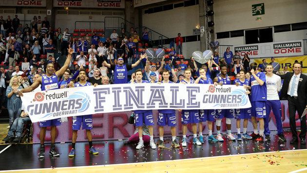 Oberwart im Finale, Spiel 5 bei Traiskirchen-Wels (Bild: GEPA)