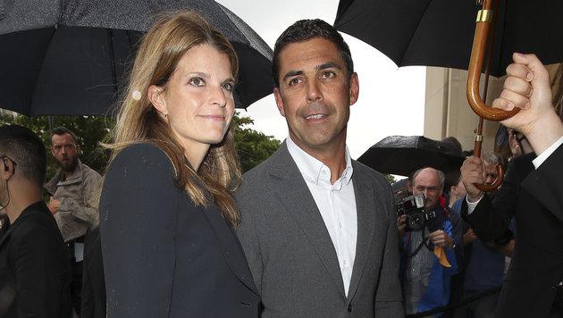 Athina Onassis mit Ehemann Álvaro Affonso de Miranda Neto (Bild: Viennareport)