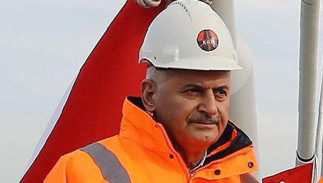 Erdogan-Vertrauter Yildirim folgt auf Davutoglu (Bild: APA/AFP/TURKISH PRIME MINISTER PRESS OFF)