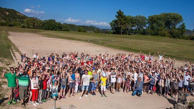 Mit Kind, Kegel und hunderten Fans auf großer Mittelmeer-Reise war Nik P. (Bild: www.adlmannpromotion.at)
