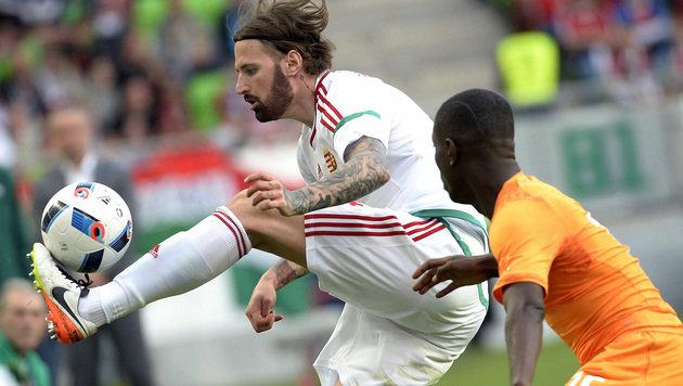 Ungarn schuftet in Leogang für Duell mit ÖFB-Team (Bild: AP)