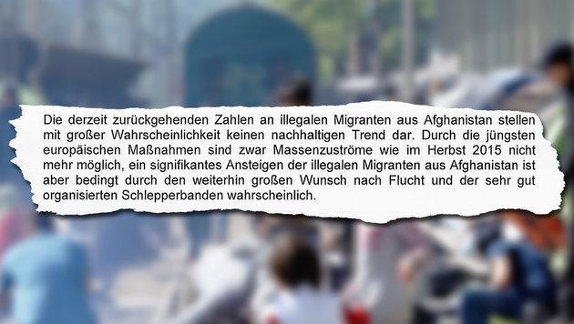 """28 Schleppermafia-Bosse planen neuen Sturm auf EU (Bild: AP/Gregorio Borgia, """"Krone"""")"""