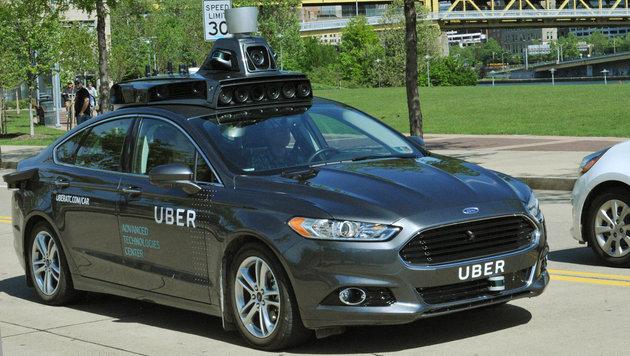 Auch Uber testet selbstfahrendes Auto (Bild: Uber)
