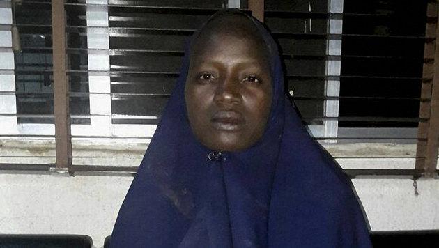 Serah Luka ist die zweite befreite Schülerin. (Bild: APA/AFP/Nigerian Army/STRINGER)