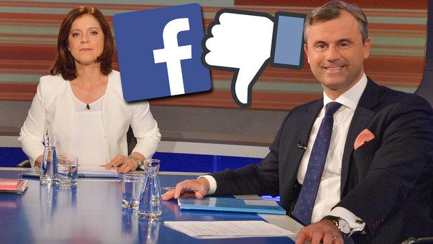 Shitstorm entlädt sich auf Ingrid Thurnher (Bild: ORF/Thomas Ramstorfer, facebook.com)