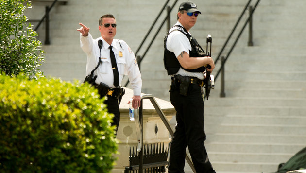 Washington: Weißes Haus nach Schüssen abgeriegelt (Bild: AP)