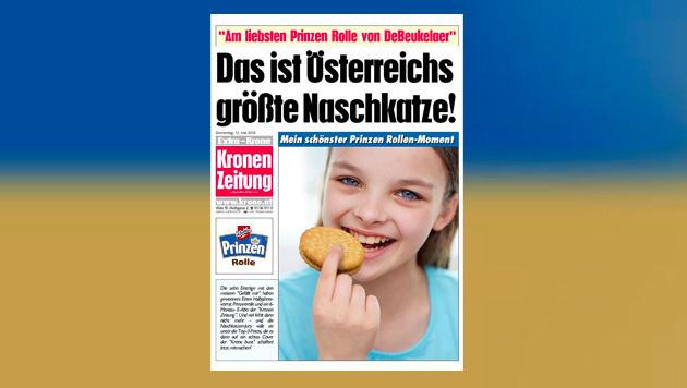 """Mit der Prinzen Rolle auf das Cover der """"Krone"""" (Bild: Prinzen Rolle)"""