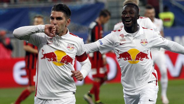 """Soriano: """"Das war wirklich nackter Wahnsinn"""" (Bild: APA/GERT EGGENBERGER)"""