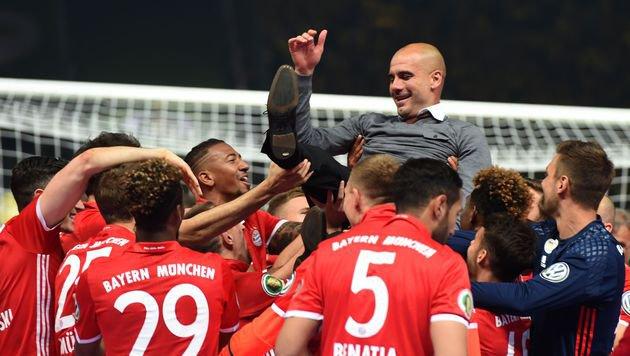 Bayerns Nervenschlacht bringt Pep zum Heulen (Bild: AFP or licensors)