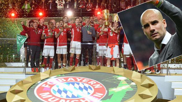 Bayerns Nervenschlacht bringt Pep zum Heulen (Bild: AFP)