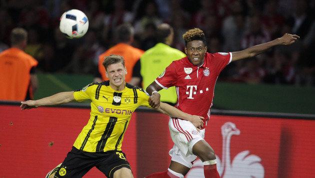 Bayerns Nervenschlacht bringt Pep zum Heulen (Bild: AP)