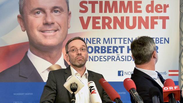 FPÖ ortet jetzt auch Wahlkarten-Veschwörung (Bild: APA/Herbert Neubauer)