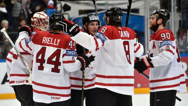 Kanada folgt Finnland ins Eishockey-WM-Finale (Bild: APA/AFP/ALEXANDER NEMENOV)