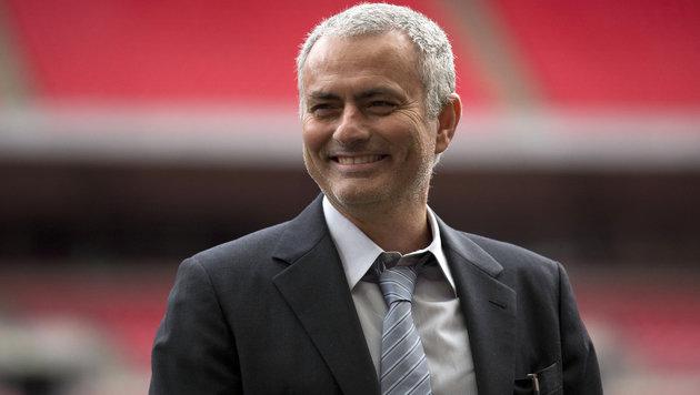 Mourinho offenbar fix bei ManUnited (Bild: AP)
