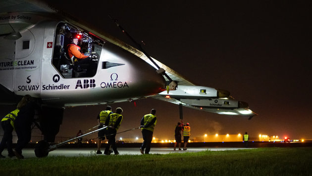 "Sonnenflieger ""Solar Impulse 2"" auf Weg nach Ohio (Bild: Solar Impulse)"
