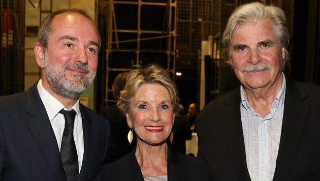 Thomas Drozda, Eva Maria Klinger und Peter Simonischek (Bild: Karl Schöndorfer)
