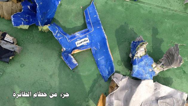 Wrackteile des abgestürzten Airbus (Bild: Associated Press)