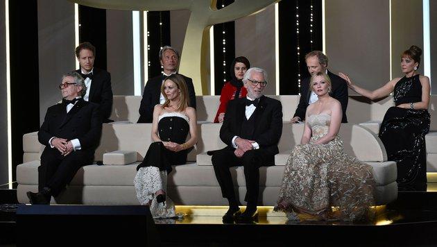 Die Jury der 69. Filmfestspiele von Cannes (Bild: AFP)