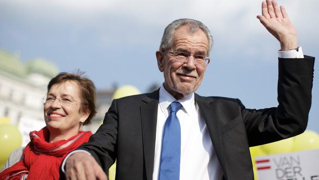 Der Hofburg-Wahlkrimi im krone.at-Protokoll (Bild: APA/GEORG HOCHMUTH)