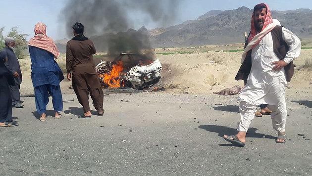Miliz bestätigt: Taliban-Chef Mansur ist tot (Bild: APA/AFP)
