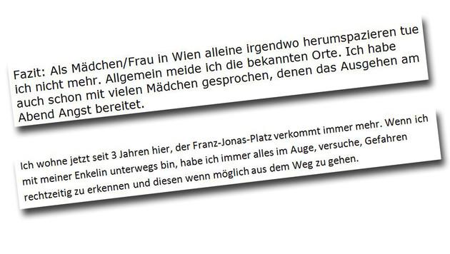 """""""Krone""""-Leserin Brigitte K. klagt über die Zustände am Franz-Jonas-Platz. (Bild: """"Krone"""")"""