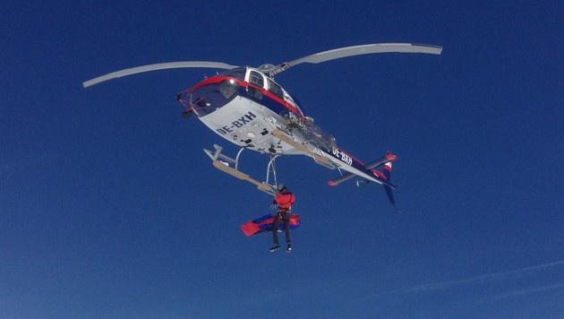 Bergsteiger stürzt bei Rettungsversuch in den Tod (Bild: LPD SALZBURG (Symbolbild))