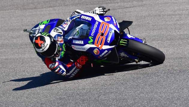 Dritter Saisonsieg von Lorenzo - Rossi im Pech (Bild: APA/AFP/GIUSEPPE CACACE)