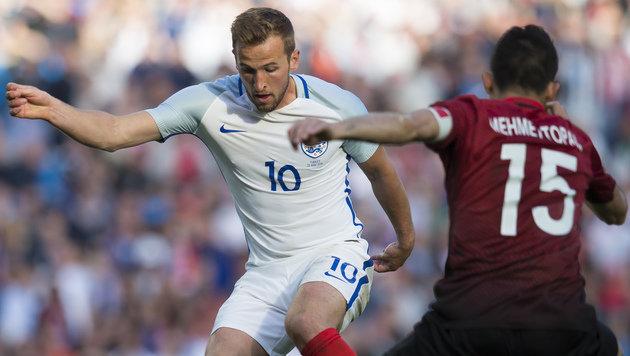 England gewinnt EM-Testspiel gegen die Türkei 2:1 (Bild: AP)