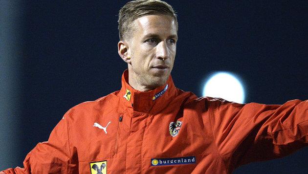 Janko beim Team - kein Ligaspiel mehr für Basel (Bild: APA/ROBERT JAEGER)