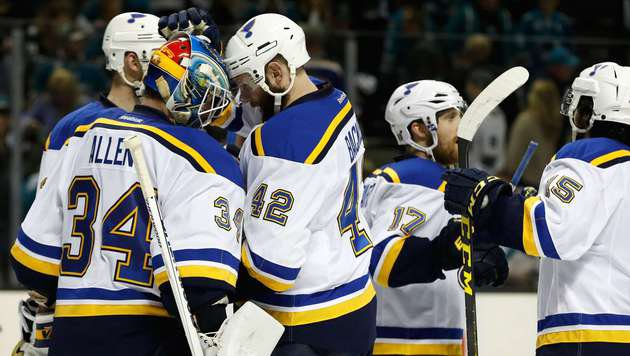 NHL: St. Louis stellt gegen San Jose auf 2:2 (Bild: 2016 Getty Images)