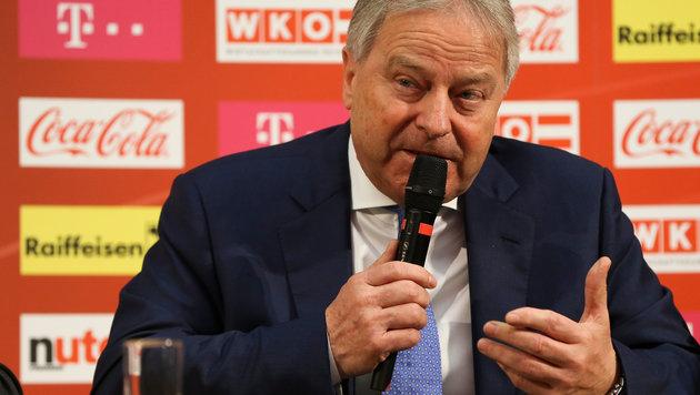 "ÖFB-Boss möchte ""Hymne öfter als dreimal hören"" (Bild: GEPA)"