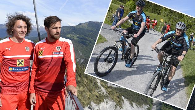 Radeln und Wandern: Team startet EM-Vorbereitung (Bild: APA)