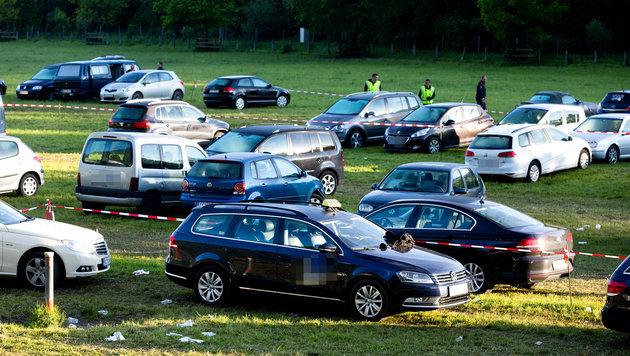 Der Parkplatz vor dem Festgelände (Bild: APA/DIETMAR MATHIS FOTOGRAFIE)
