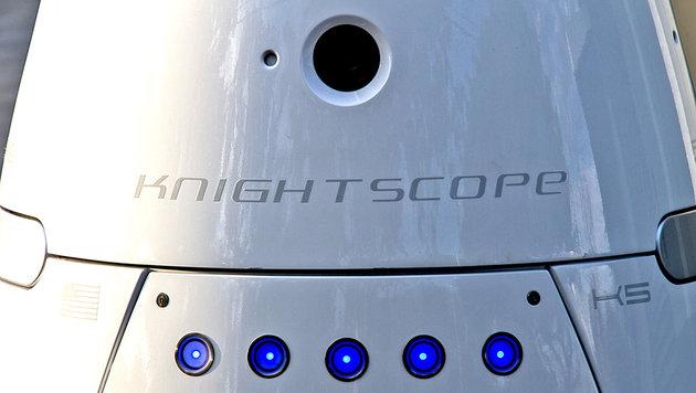 Roboter sorgt in USA für Recht und Ordnung (Bild: Knightscope)