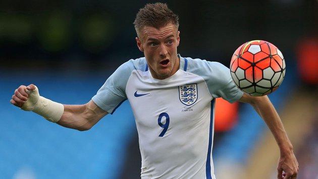 Fuchs-Kollege Vardy verlängert bei Leicester (Bild: APA/AFP/SCOTT HEPPELL)
