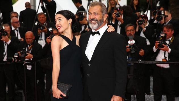 Rosalind Ross und Mel Gibson (Bild: Viennareport)