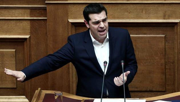 Griechenlands Regierungschef Alexis Tsipras (Bild: APA/AFP/ANGELOS TZORTZINIS)
